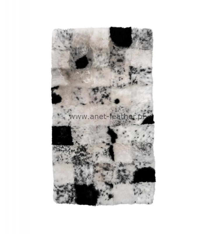 DESIGNER RUG NATURAL SPOTTED SHORN