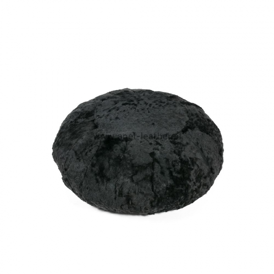DYED BLACK SUPER SHORN